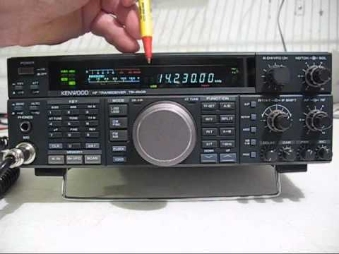 kenwood ts450s at ham radio transceiver youtube. Black Bedroom Furniture Sets. Home Design Ideas