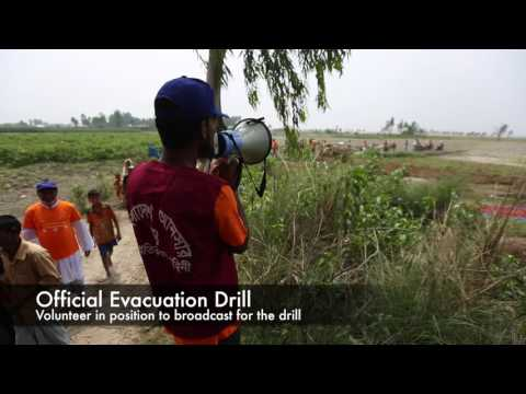 Official Flood Drill in Bangladesh, March 22nd 2017