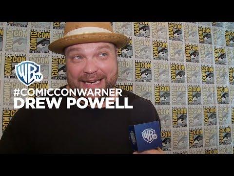 ComicConWarner  Gotham: Drew Powell