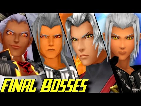 Evolution of Final Bosses in Kingdom Hearts Games (2002-2017)