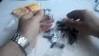 Распаковки с AliExpress /№30/Конденсаторы 120шт.(, 2016-06-08T07:00:01.000Z)