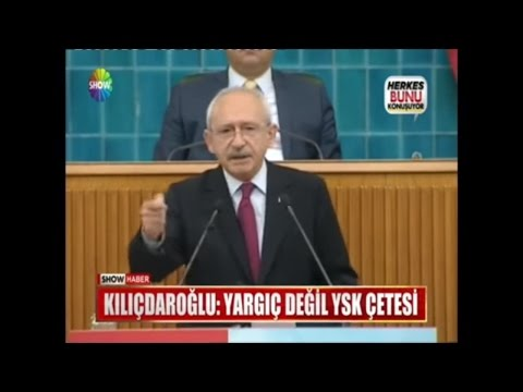 """Kılıçdaroğlu: """"Yargıç değil YSK çetesi"""""""