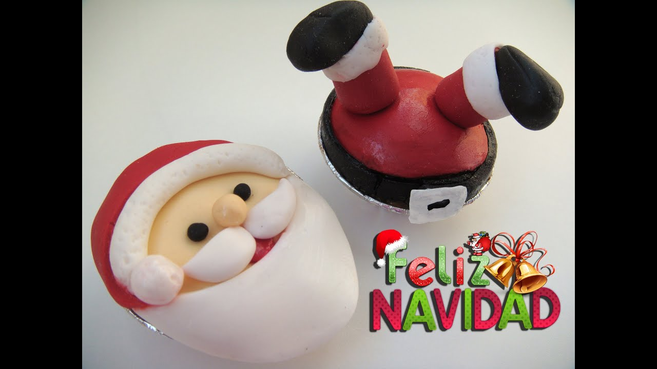 Cup Cakes De Pere Noel