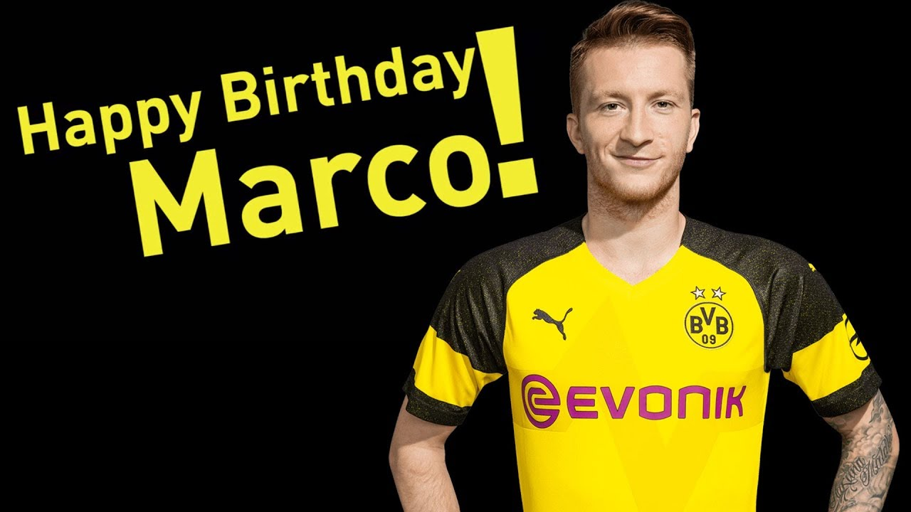Happy Birthday, Marco Reus!