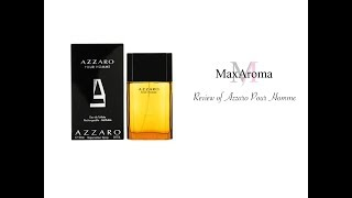Pour Homme Azzaro | Thursday Reviews