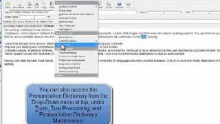 How to Use TextAloud 3's Pronunciation Editor (Intro)