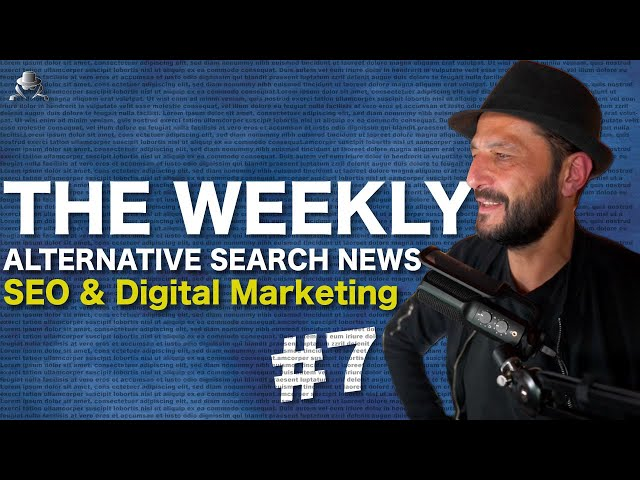 Any Ideas For Clickbait SEO and Digital Marketing Studies ? Alternative Search News Week 30 2020