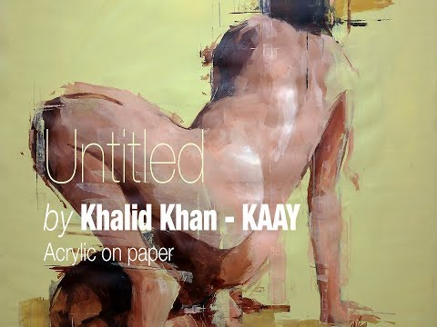 """""""Untitled"""" Acrylic on paper 