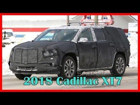 2018 Cadillac Xt7 Picture Gallery