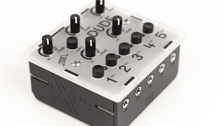 DUDE - miniature 5 channel mixer & more