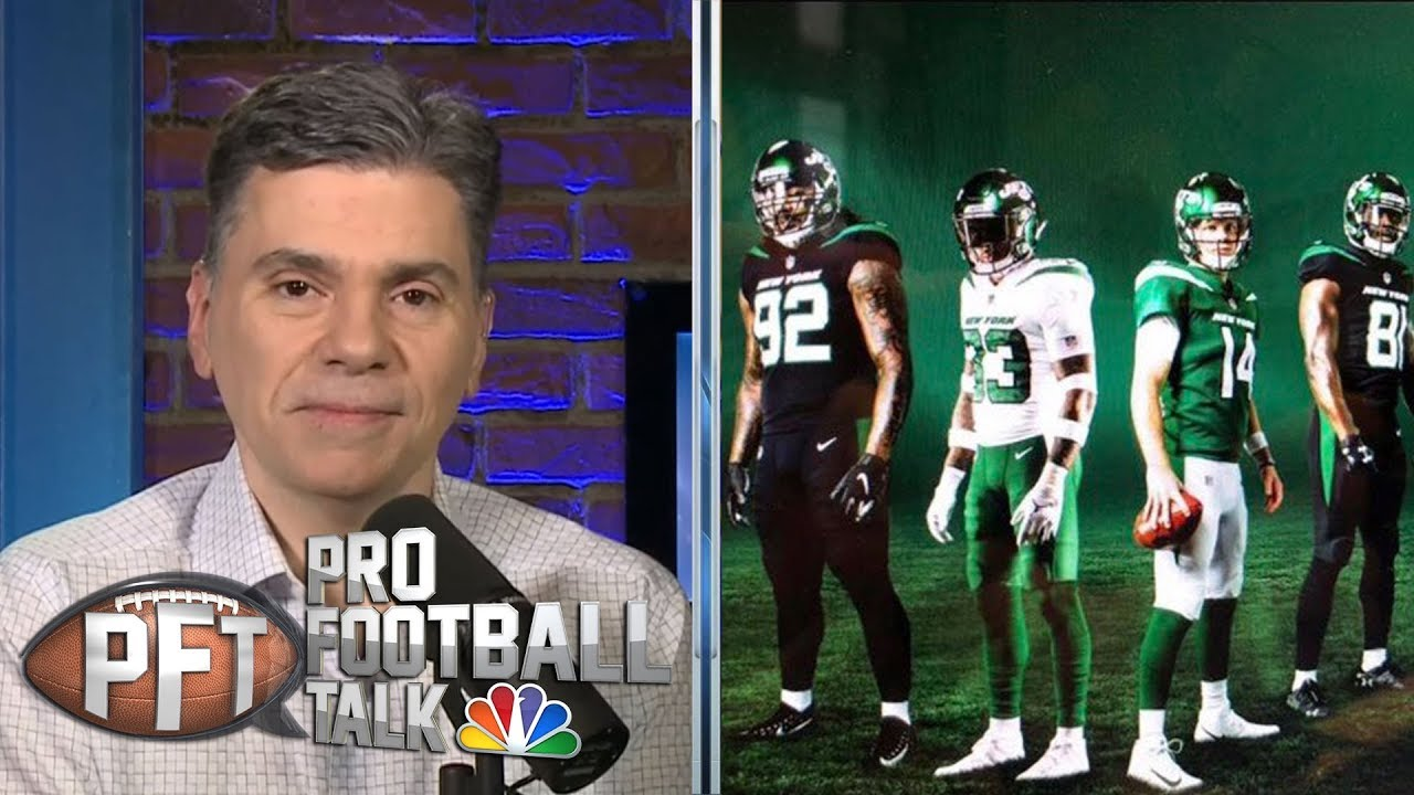 e61690845d2 Examining leaked New York Jets' jerseys | Pro Football Talk | NBC ...