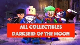 Lego DC Super Villains Darkseid of the Moon Free Play 100% all Minikits and Collectibles