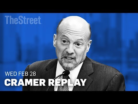 Jim Cramer on Lowe's, Home Depot, TJX, Square, Dick's Sporting and Salesforce