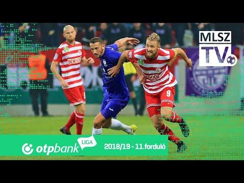 DVTK  - Újpest FC | 1-2 (0-0) | OTP Bank Liga | 11. forduló | 2018/2019