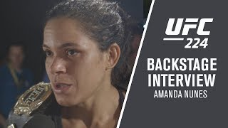 UFC 224: Amanda Nunes -