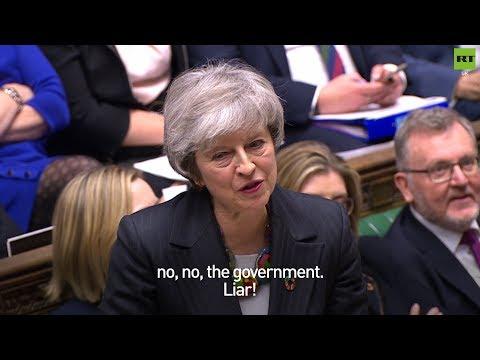 Ian Blackford calls Theresa May a liar during #BrexitStatement