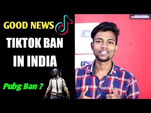 good-news-  -tiktok-ban-in-india-  -pubg-ban-?