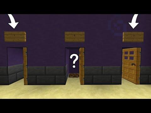 LE 3 PORTE CON LA TRAPPOLA!! Minecraft Murder Mystery