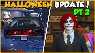 ANOTHER HALLOWEEN UPDATE! TRIPLE MONEY \u0026 DISCOUNTS | GTA Online Weekly Update