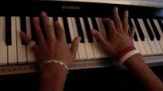 Chris Brown-Say Goodbye piano