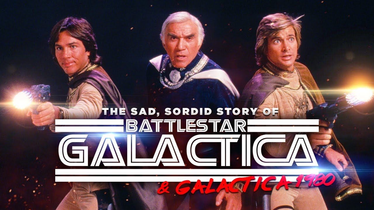 The Story of the Twice Failed Battlestar Galactica (1978): Lawsuits, Deaths & Controversies