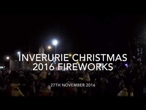 Inverurie Christmas 2016 Fireworks