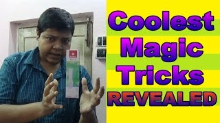 Coolest Magic Tricks REVEALED Srijan Show