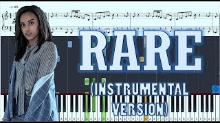 Ruth B - Rare - Piano Instrumental (Karaoke Version) w/ Sheets