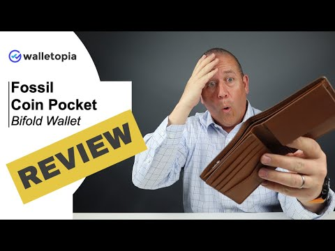 Feature Packed And LARGE, The Fossil Coin Pocket Wallet Is A Traditionalists Dream!