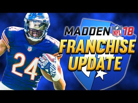 Madden 18 - Bears Franchise Update & Slider Discussion