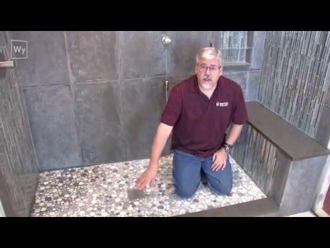 Floor Heating For Under Shower Floors Shower Bench Seats Youtube