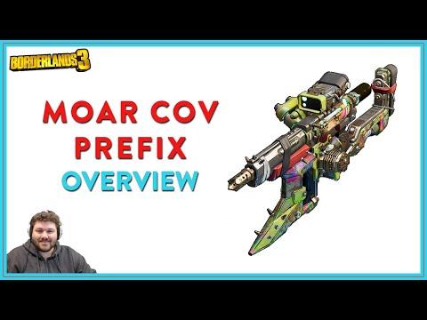 Good COV Prefix | Borderlands 3 | Moar & MOARR COV Prefix