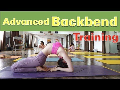 Advanced Back Bend Training | Raja Gupta | Palan Yoga | Vietnam