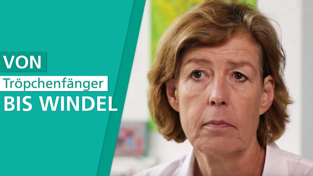 Welche Hilfsmittel gibt es bei Harninkontinenz? - YouTube