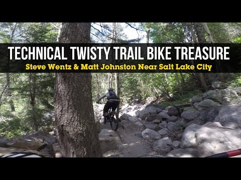 SHRED WITH STEVE - Totally Twisty Technical Trail Bike Treasure