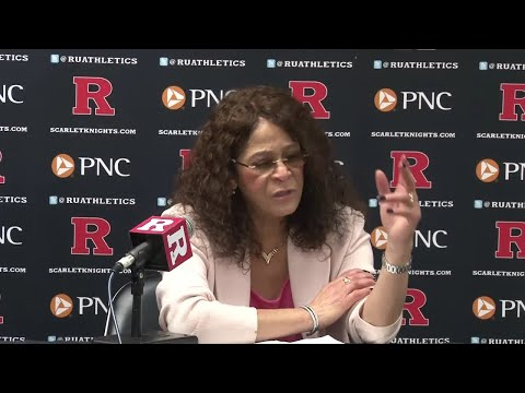 .@RVisionRU: @RutgersWBB Postgame Press Conference - Maryland