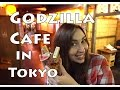 Godzilla Cafe in Tokyo | Adventures in Japan