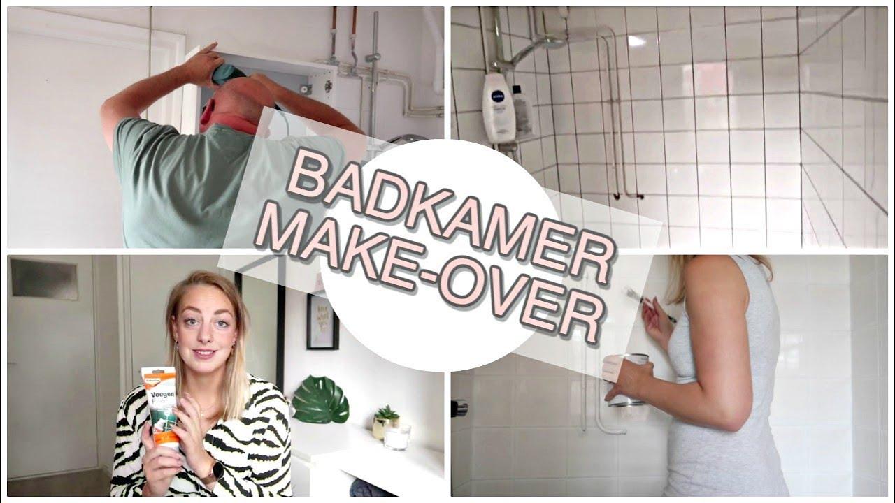 Badkamer Make Over Met Voegenfris Sophie Hol 2019 Youtube
