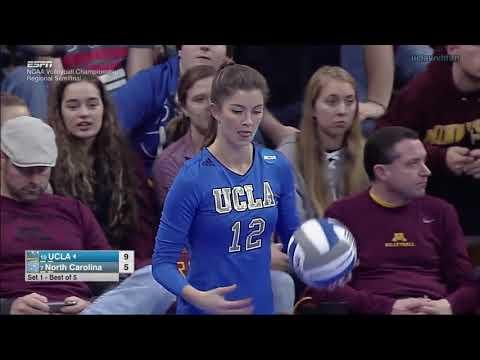 UCLA vs North Carolina - Regional Semifinal NCAA Women's Volleyball (Dec 9th 2016)