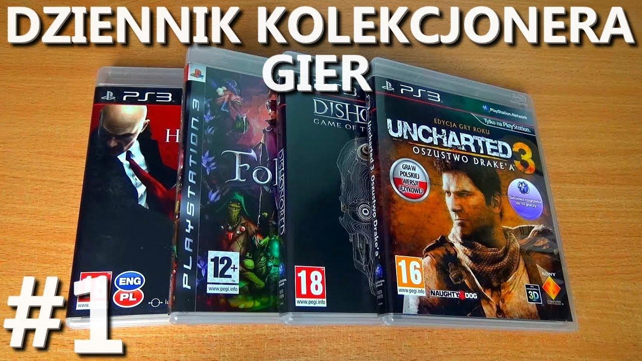 Uncharted 3: GOTY, Folklore i inne gry na PS3 dodane do kolekcji | Dziennik Kolekcjonera Gier #1