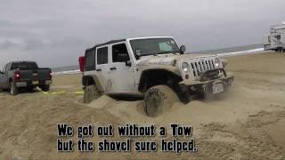 Jeep Playing at Pismo Beach, CA.