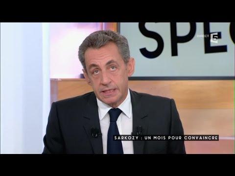 Nicolas Sarkozy, un mois pour convaincre ! C à vous - 24/10/2016