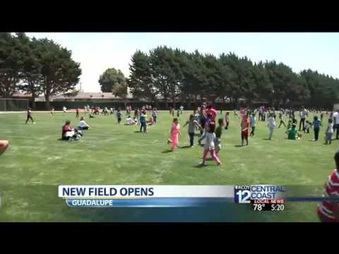 New Play Field Opens At Mary Buren Elementary School