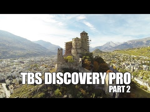 MHF/120s flight test/ TBS Discovery Pro part2