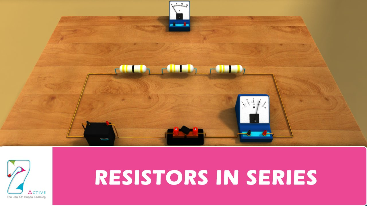 Resistors In Series Youtube Real Life Building Simple Resistor Circuits And Parallel