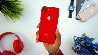 New RED iPhone 8 Plus Unboxing!