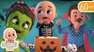 Halloween Johny Johny yes papa Song | trick or treat | haunted house | kindergarten | rhyme