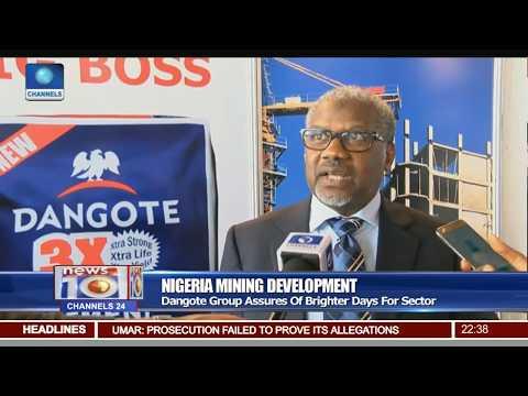Mining Development: Dangote Industries Champions Sector