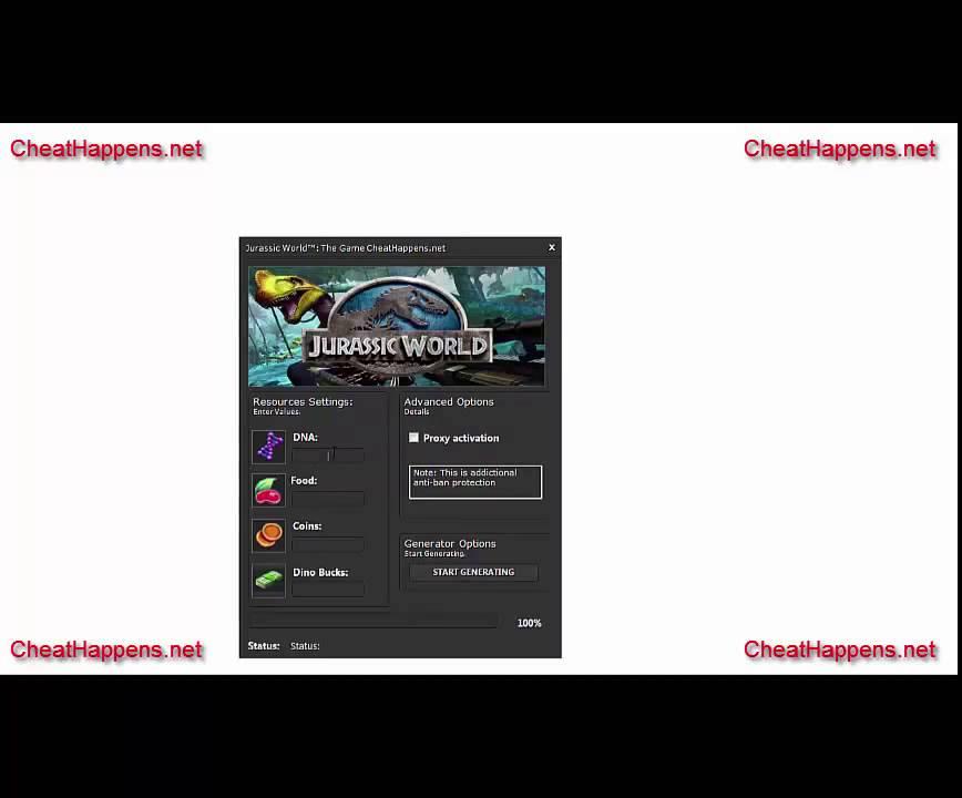 free jurassic world the game cheat engine  2015  youtube