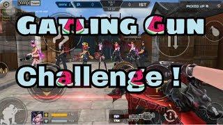 Gatling Gun Challenge !! - Crisis Action